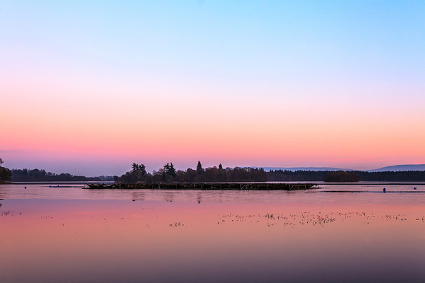 Lake of Mentieth Afterglow - 8843