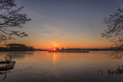 Sunrise over the Fishery - 8676