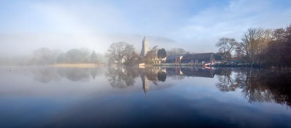 Mist over Fishing HQ