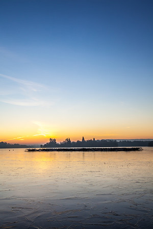 Sunrise Lake of Menteith - 8658