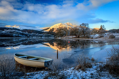 Loch Achray & Ben Venue - Winter