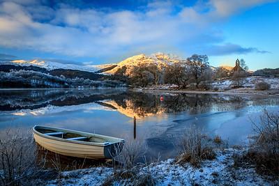 Loch Achray & Ben Venue - Winter