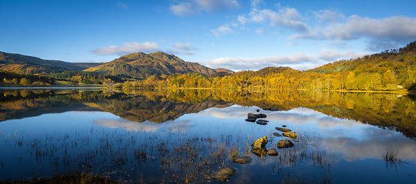 Loch Achray Pano with Ben Venue