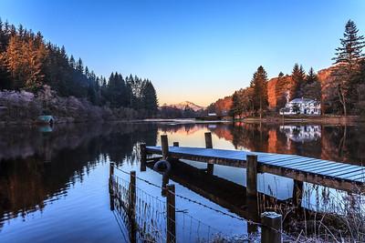 Loch Ard Jetty - 8679