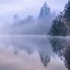 Mist on Loch Ard