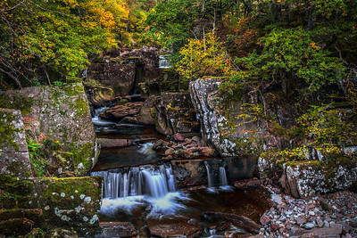 Bracklinn Falls - 0385