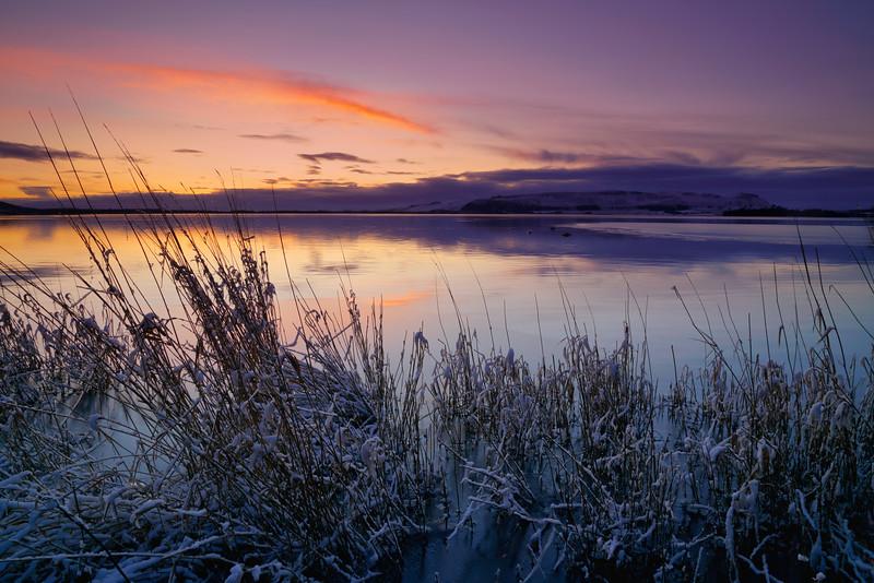Loch Leven sunrise