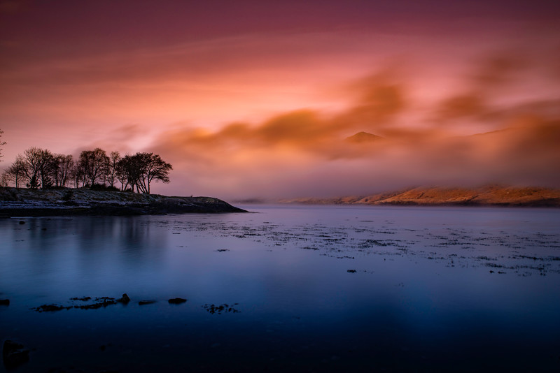 Loch Linnhe, highlands, scotland.