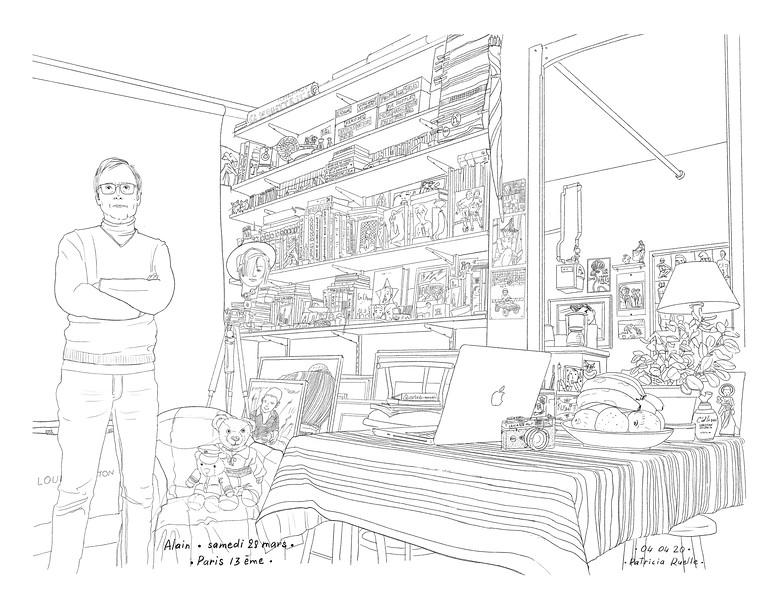 Alain<br /> Samedi 28 mars - Paris - 13ème<br /> Lockdown Gallery