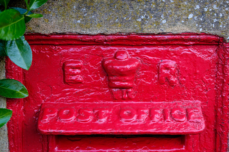Post Office Red