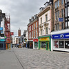 Pride Hill, Shrewsbury deserted at 11am Sat 28th March.