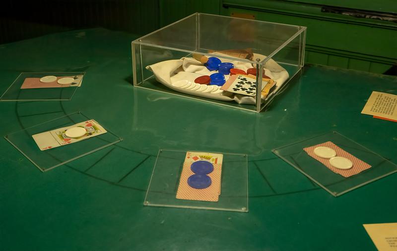 Locke Museum Gambling Table