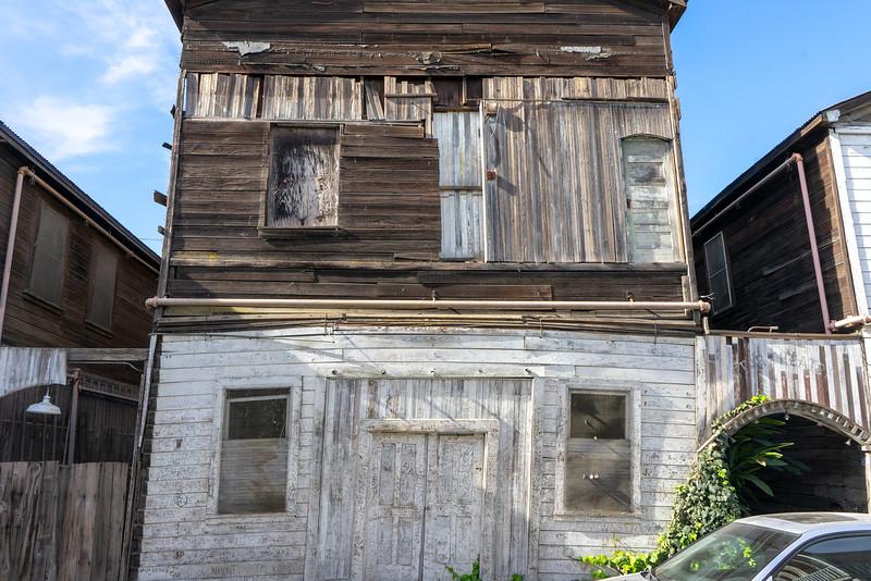 Locke Leaning Building