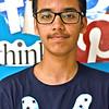 Locke Middle School Knowledge Bowl team member Raghav Vaid 13 and in 8th grade. SUN/ David H. Brow