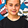 Locke Middle School Knowledge Bowl team member Eric Winitzer 13, 8th grade. SUN/ David H. Brow