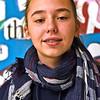 Locke Middle School Knowledge Bowl team member Jacqueline Behaeghel 13 7th grade. SUN/ David H. Brow