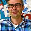 Locke Middle School Knowledge Bowl Coach Henry DeBenedetto. SUN/ David H. Brow
