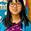 Locke Middle School student Herin Lee 13 7th grade and a member of the Knowledge Bowl. SUN/ David H. Brow