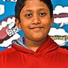 Locke Middle School Knowledge Bowl team member Saish Yennampelli 12, 6th grade. SUN/ David H. Brow