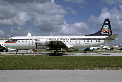 Aeronauts International Lockheed 188C Electra N138US (msn 1144) MIA (Bruce Drum). Image: 103340.
