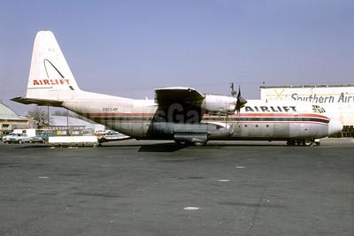Airlift International Lockheed 382E (L-100-20) Hercules N9254R (msn 4222) ATL (Bruce Drum). Image: 103174.