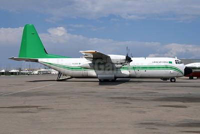 Libyan Air Cargo Lockheed 382G (L-100-30) Hercules 5A-DOM (msn 4992) MJI (Richard Vandervord). Image: 925334.