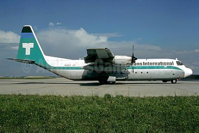 Trans International Airlines (1st) Lockheed 382G (L-100-30) Hercules N12ST (msn 4388) CDG (Christian Volpati). Image: 904425.