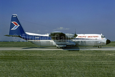 Pacific Western Airlines Lockheed 382G (L-100-30) Hercules C-GHPW (msn 4799) ORY (Christian Volpati). Image: 907704.