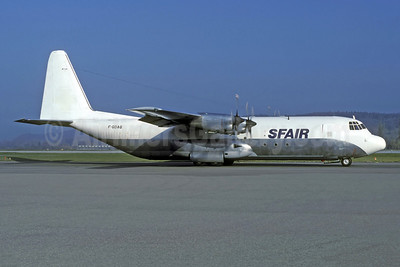 SFAir Lockheed 382G (L-100-30) Hercules F-GDAQ (msn 4600) ZRH (Rolf Waller). Image: 920685.