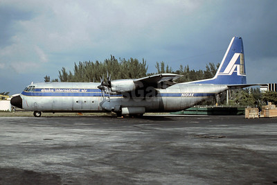 Alaska International Air Lockheed 382G (L-100-30) Hercules N101AK (msn 4248) MIA (Bruce Drum). Image: 105121.