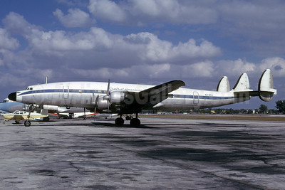 Central American Airways Lockheed 1049H-07-6-170 Super H Constellation N74CA (msn 4850) FLL (Bruce Drum). Image: 103666.