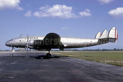 COPISA (Compañia Peruana Internacional de Aviación SA) Lockheed 749-79-32 Constellation OB-R-899 (msn 2549) MIA (Bruce Drum). Image: 105395.