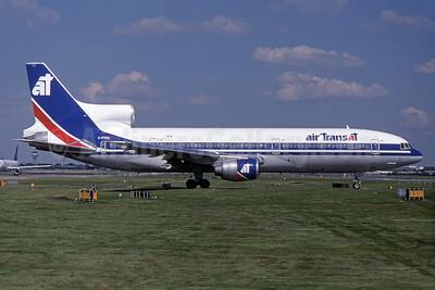 Air Transat Lockheed L-1011-385-1-14 TriStar 150 C-FTNG (msn 1048) LGW (SPA). Image: 931725.