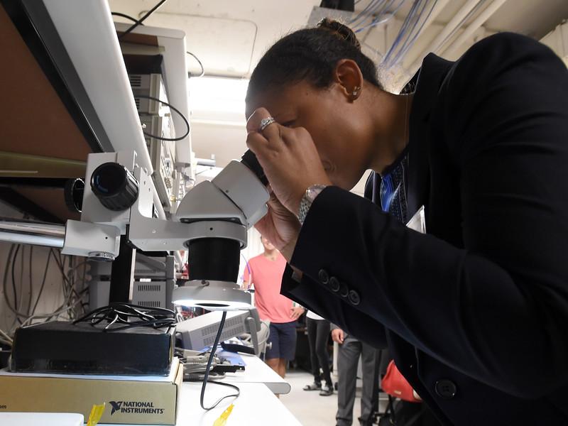 Lockheed Martin Visits CU Students