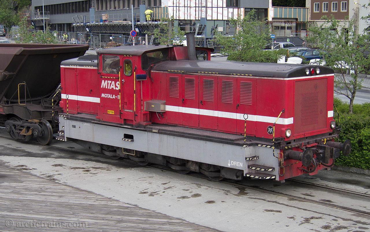 LKAB (MTAS) Motala-11 Narvik Havn Olivin 2011-06-08