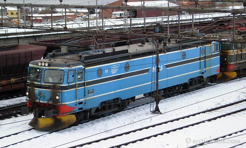 LKAB El 15.2191 Narvik Ore Harbour 2003-03-20 by TS