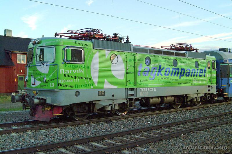 TKAB Rc2 13 Vassijaure st 2001-06-21 by TS