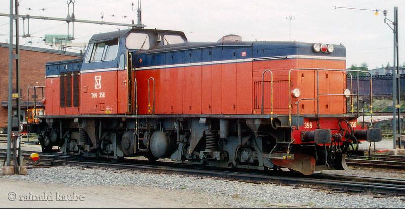 SJ T44 Kiruna Ore Terminal 1993-06-01 by Rainald Kaube