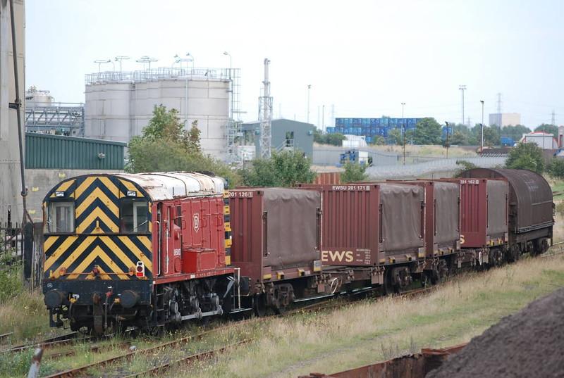 A V Dawsons 08 <br /> <br /> 08600<br /> <br /> Middlesbrough Goods Yrd <br /> <br /> 10th Sept 2008