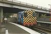09026<br /> <br /> Light Engine Poole station <br /> <br /> 10th June 1988