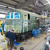 E5001 <br /> <br /> Sits in the workshop at Shildon