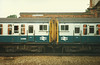 Pair of 4 TC sets <br /> <br /> Coupled up at Bournemouth Central <br /> <br /> Left 411 <br /> <br /> Right 417 <br /> <br /> 30 August 1986