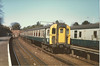 class 491 <br /> <br /> 4 TC <br /> <br /> 402 <br /> <br /> Bournemouth stabling sidings <br /> <br /> 19th March 1986