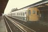 Basingstoke <br /> <br /> 7th Sept 1985 <br /> <br /> 3H DEMU <br /> <br /> 1133