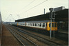 "Doncaster <br /> <br /> 2nd March 1987 <br /> <br /> White DMU in front nearest camera <br /> <br /> class 114 <br /> <br /> 53045 / 54004 <br /> <br /> rear <br /> <br /> Class 108 <br /> <br /> 54196 / 53624 <br /> <br /> Info on Class 114's here <br /> <br /> <a href=""http://en.wikipedia.org/wiki/British_Rail_Class_114"">http://en.wikipedia.org/wiki/British_Rail_Class_114</a><br /> <br /> Info on Class 108's here <br /> <br /> <a href=""http://en.wikipedia.org/wiki/British_Rail_Class_108"">http://en.wikipedia.org/wiki/British_Rail_Class_108</a>"