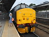 Liz and <br /> <br /> 37 405 <br /> <br /> her second class 37 hauled experiance and first time loco hauled to <br /> <br /> Great Yarmouth