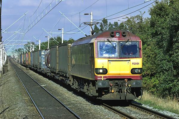 92001 Burnage 5/10/2005 4O69 1401 Trafford Park-Dollands Moor