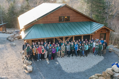The class of 1978 and their new bunkhouse.