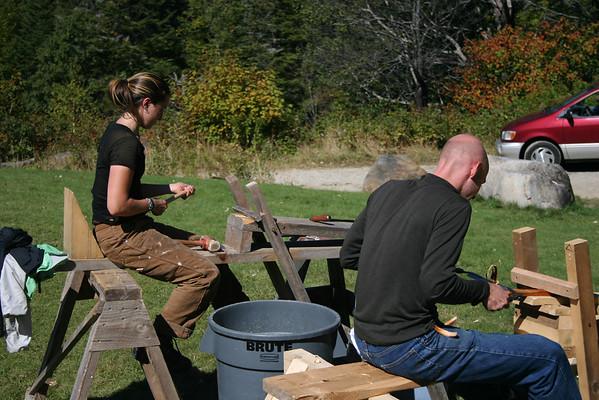 84 Crew Quarters Timberframe Workshop