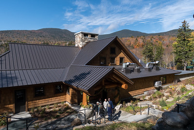 The new Moosilauke Ravine Lodge on its dedication day.